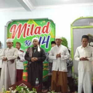 Milad ke- 44, Pesantren Nurul Muta'allimin Gelar Sholawatan, Dzikir, dan Doa Bersama