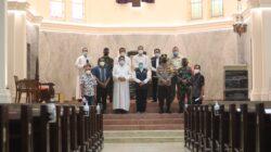 Jum'at Agung di Gereja Kadetral Surabaya, Umat Nasrani dapat Pengamanan dari Forkopimda Jatim