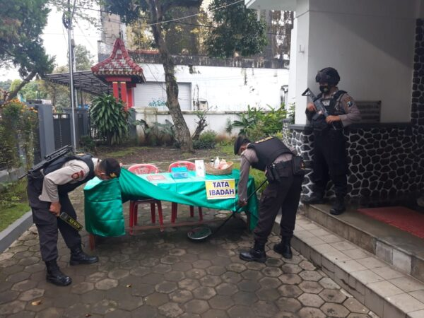 Jelang Paskah, Polres Bondowoso Perketat Pengamanan di Gereja