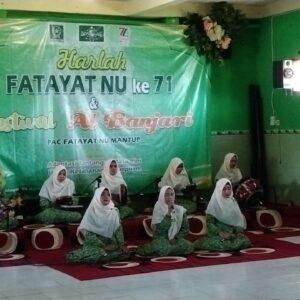 Pringatan Harlah Fatayat NU Mantup Lamongan, Perkuat Solidaritas untuk Kemandirian Organisasi
