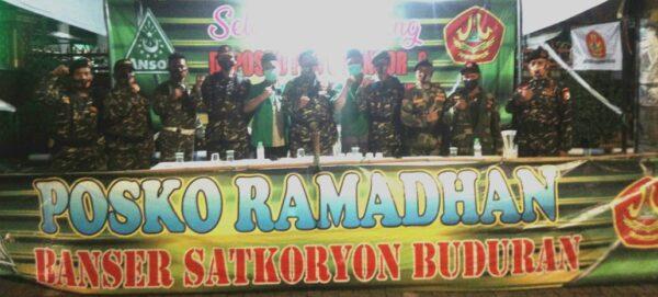 Banom dan MWC NU Sidoarjo Serentak Buka Posko Ramadhan