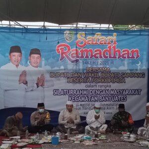 Serap Aspirasi Masyarakat, Bupati Sampang Gelar Safari Ramadhan di Banyuates