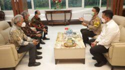 Kapolda Jatim dan PT Semen Indonesia Bahas Stabilitas Harga Semen di Wilayah Jawa Timur