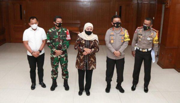 Jaga Jatim dari bahaya Covid, Forkopimda Jawa Timur Siagakan 7 Titik Penyekatan
