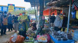 Wakil Bupati Sumenep Pantau Harga Sembako di Pasar Anom Sumenep