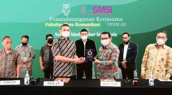 Kerjasama SMSI - UPDM, Perusahaan Pers Pilih UKW Berbasis Undang-Undang Pers