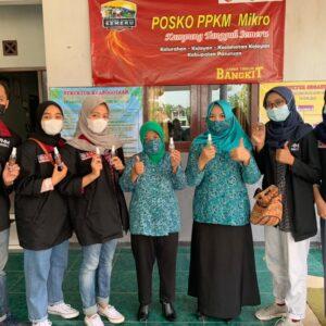 Upaya Pencegahan Covid-19, Mahasiswa PMM Kelompok 9 Gelombang 4 Ciptakan Hand Sanitizer Alami