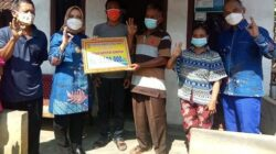 Bupati Musi Rawas Salurkan Bantuan untuk Masyrakat di Desa.C.Nawangsasi