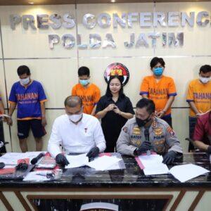 Pembuat Hasil Swab Illegal Dibongkar Subdit III Jatanras Ditreskrimum Polda Jatim