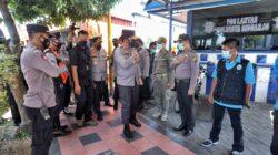 Kapolda Mengecek Pos Penyekatan Berfungai Optimal di Jatim