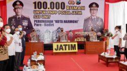 Lewat Zoom Meeting, Kapolda Jatim Hadiri Peresmian PNPP Polres Kediri Kota oleh Kapolri
