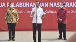 Tinjau Vaksinasi di Pelabuhan Sunda Kelapa, Presiden: Perlindungan bagi Pekerja