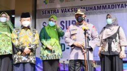 Gandeng Muhammadiyah, Kapolri: Sangat Membantu Percepatan Vaksinasi