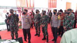 Kunjungan ke Jatim, Panglima TNI Apresiasi Kolaborasi Tim Nakes, Babinsa dan Bhabinkamtibmas