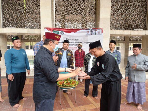 PCNU Jakarta Pusat Bentuk Pencak Silat NU Pagar Nusa di Masjid Istiqlal