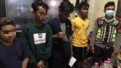 Pesta Miras di Taman Edukasi, Lima Pemuda Diamankan Patko 801 Polres Sumenep