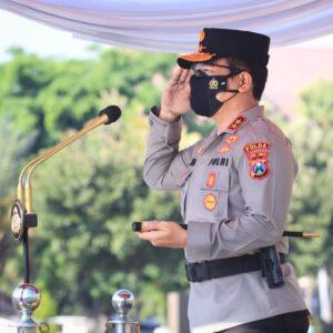 Pimpin Apel Gelar Pasukan Operasi Patuh Semeru 2021, Kapolda Jatim: Ada Empat Poin Sasaran Utama