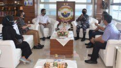Silaturahmi Dengan Media, Panglima Koarmada II Terima Kunjungan PWI Jatim