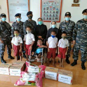 Komandan KRI Bima Suci Beserta Satgas Operasi (KJK) CC Ke Forkopimda Maluku Tenggara